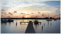 Gated Waterfront Lot With Dock
